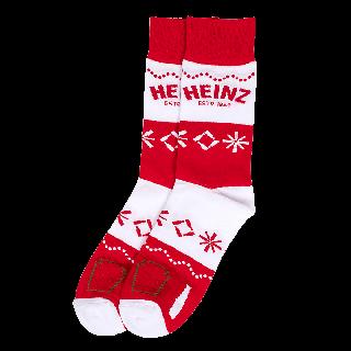 Heinz Holiday Dress Socks