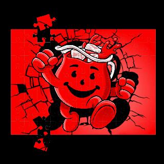 Kool-Aid Man Puzzle