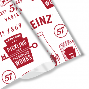 Heinz Wrapping Paper